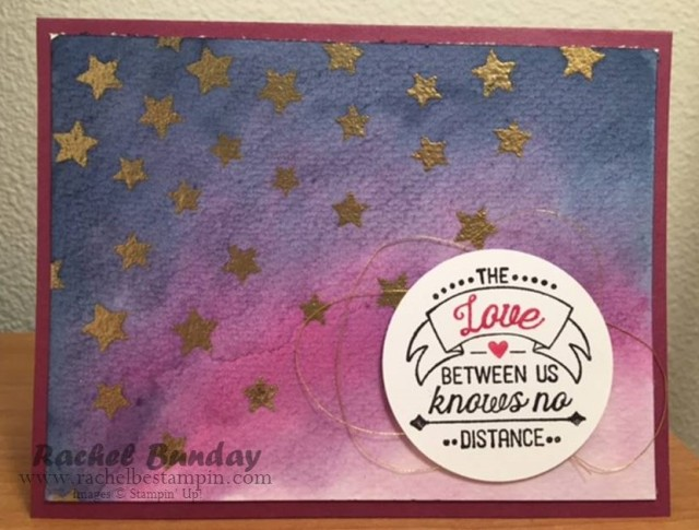Love Knows No Distance Watercolor